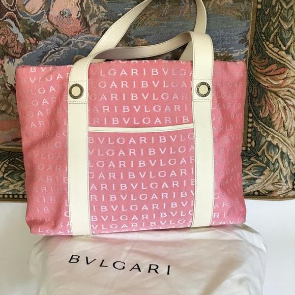 Bulgari Handbags - Bulgari Tote Bag